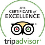 Passion Paradise TripAdvisor Certificate of Excellence