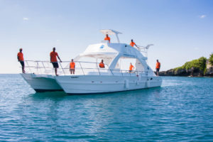 Passion Paradise Diving & Snorkeling boat.