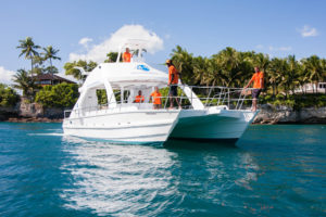 'Paradise' scuba diving and snorkeling boat